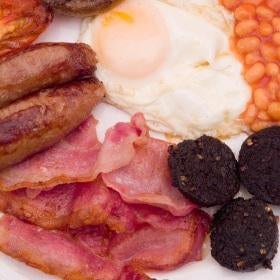 Dry cured bacon, free range eggs, free range sausages, Clonakilty Black Pudding, delivery to Ireland, England, Scotland.