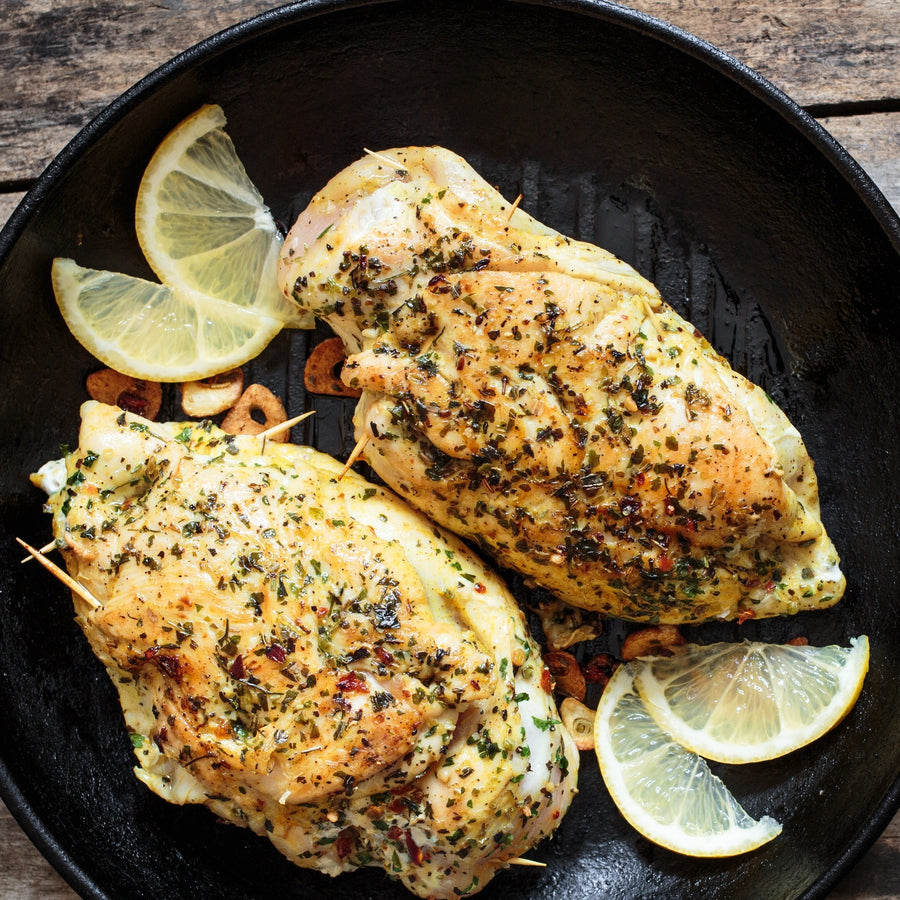 Free range Chicken Breast - Full breast 2 person sharing size 500 g to 600 g (frozen)