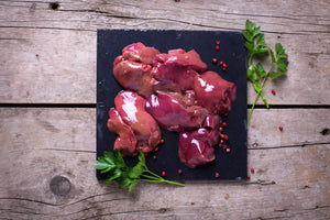 Free range chicken livers (frozen)