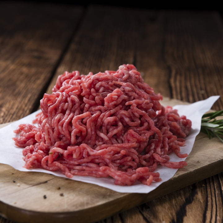 Beef, Grass fed beef mince