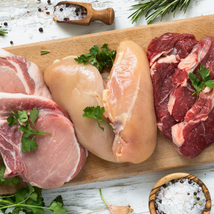 Express Meals meat box from Pheasants Hill Free Range Meat - free delivery Ireland, England, Scotland, UK