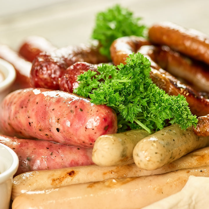 Sausages, Sausage Selection box