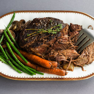 Beef, Grass fed, rare breed beef silverside slow cook roast