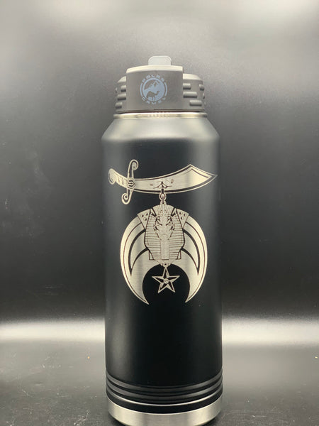 Masonic Designs 32 oz. Polar Camel Water Bottle (Personalized Engraving)