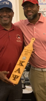 "ΚΑΨ 22"" x 4"" Bamboo Paddle for Commemoration of Achievement"
