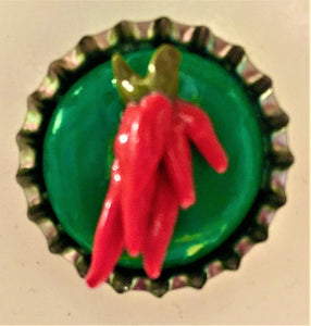 Ristra bottle cap magnet