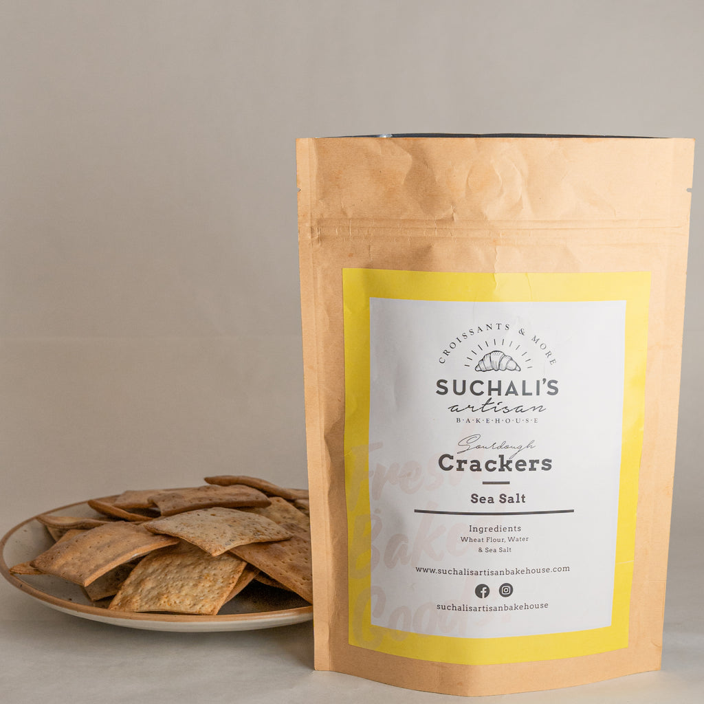 Sourdough Crackers SEA SALT