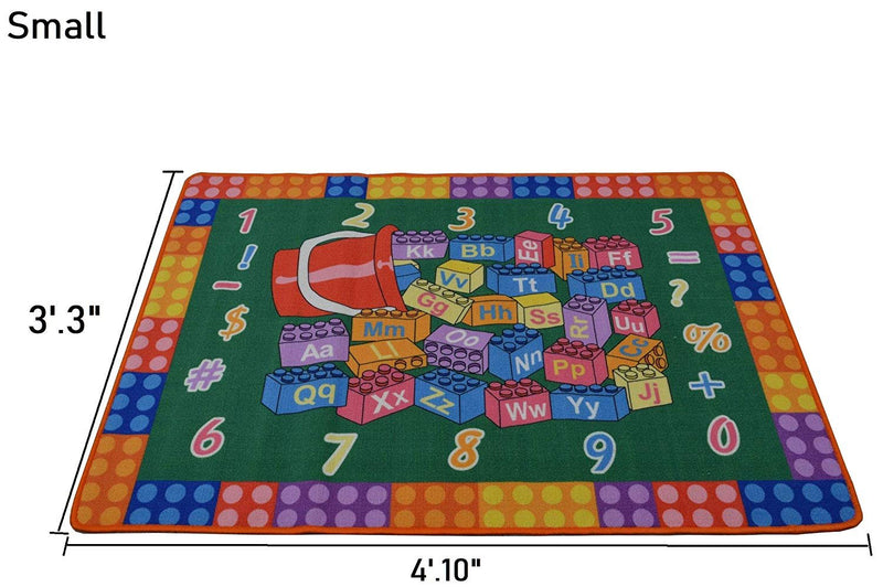 Building Block Non-Slip Kids Playmat