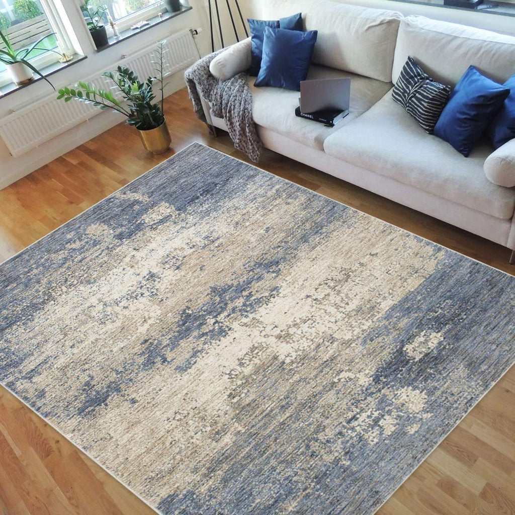 "Abstract Rugs/Contemporary Fashion Home Modern Area Rugs-Pistachio|Beige|Multi Color (7'9"" x 10')"