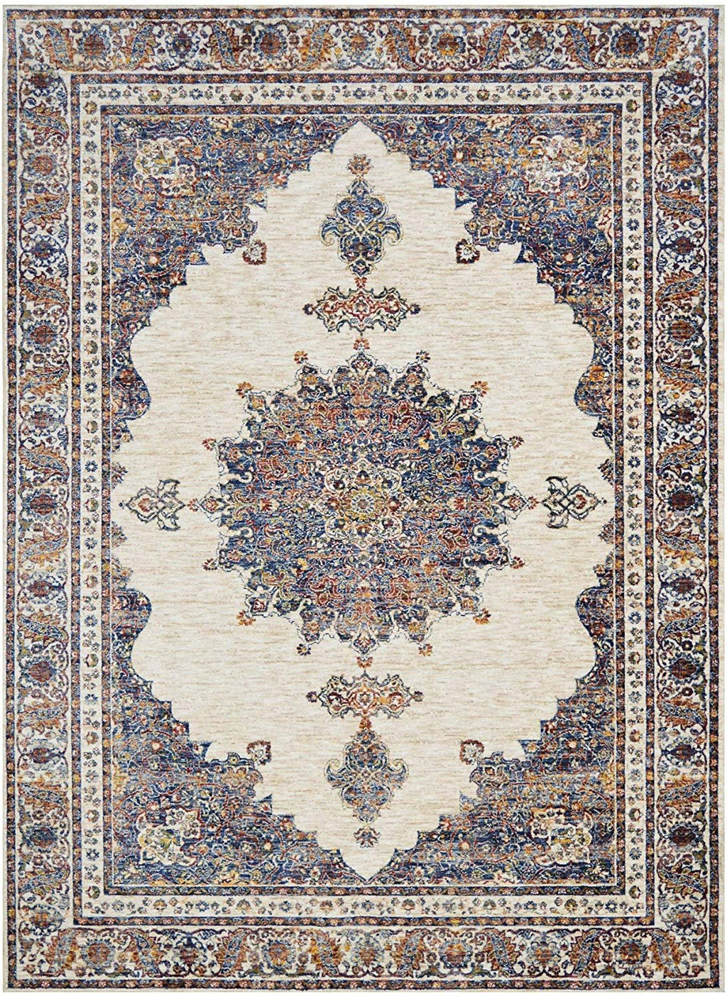 "Traditional Rugs/Contemporary Oriental|Persian Vintage Area Rugs-Purple/Multi (7'9"" x10')"