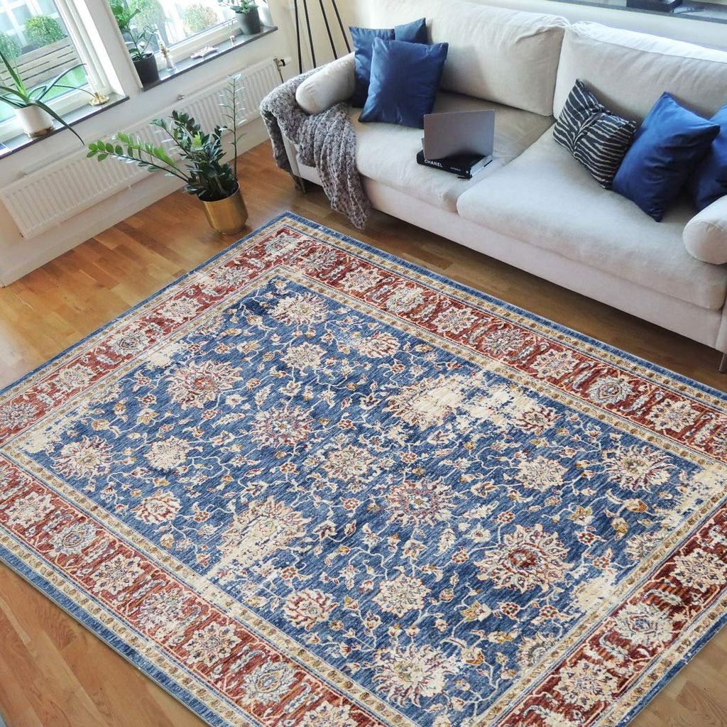 "Traditional Rugs/bijar /Fashion Home Oriental|Persian Vintage Rugs-Distressed Blue (7'9"" x 10')"