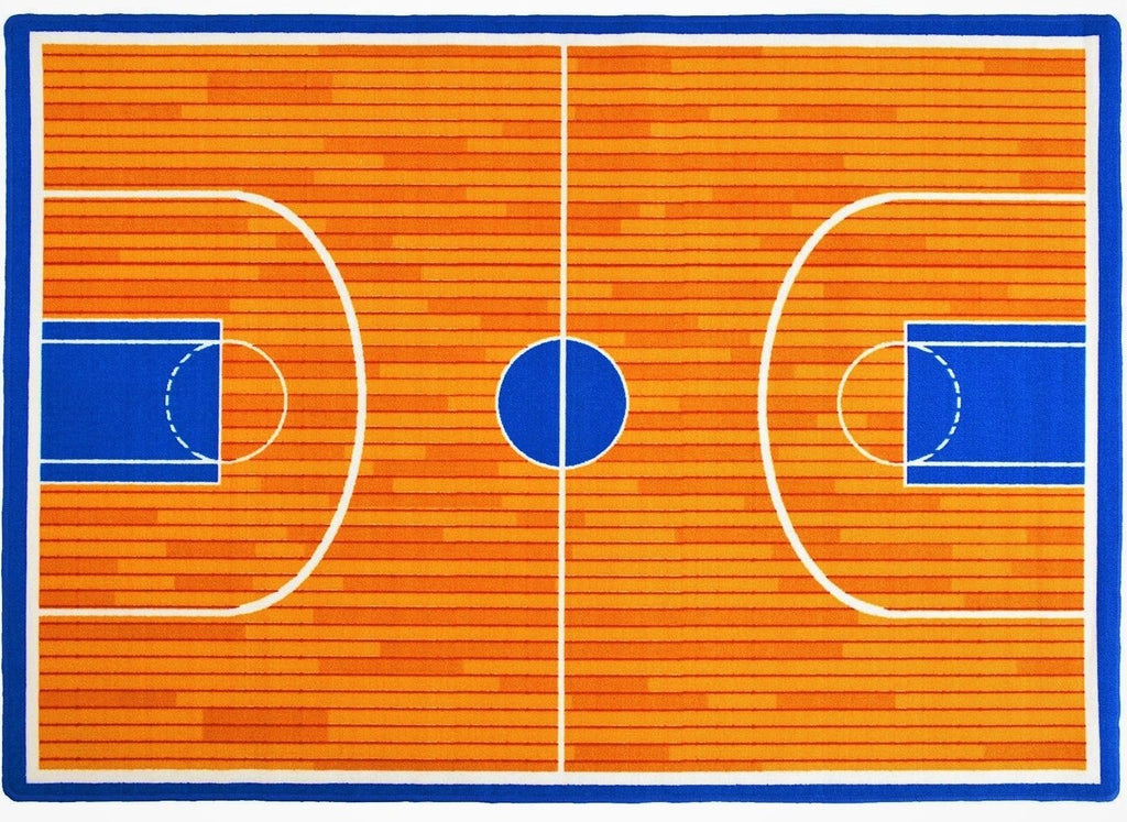 Basketball Court Kids play mat Non-Slip
