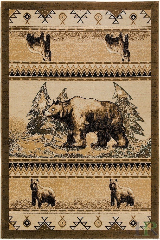 Bear/Trees/Southwestern Pattern