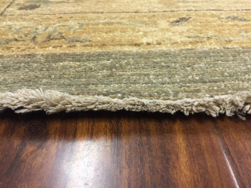 Hand Knotted Pakistani Rug-Ziegler-Gray/Beige/Multi-(12 by 14.5 Feet)