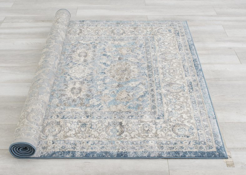 Cream/Gray/Ivory/Beige-Faded, Oriental Distressed Ÿ?? Modern Vintage DesignŸ?? Abstract, Persian Rug