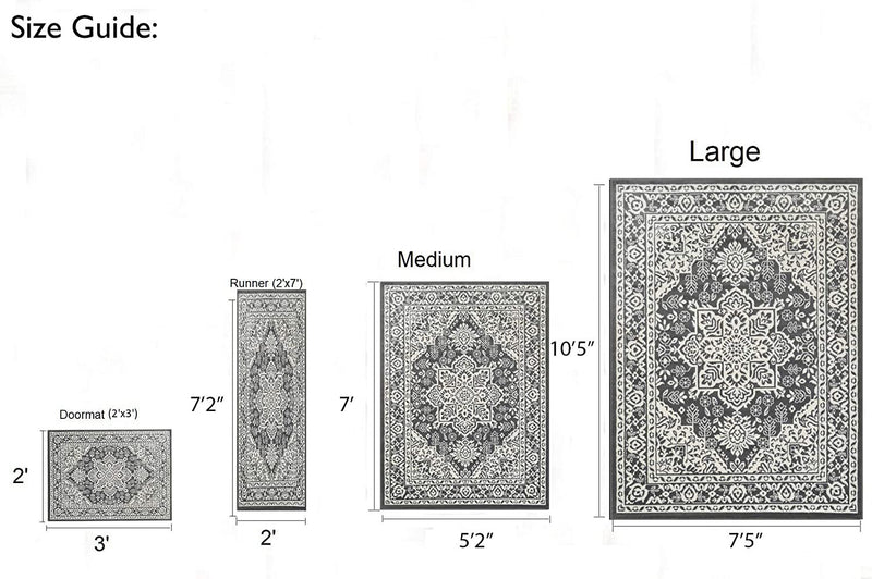 Traditional Rug for Living Room Antiqued Oriental Gray and White Area Rug Boho D????cor Rugs for Bedroom