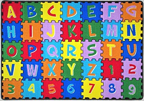 ABC Puzzle Letters/Numbers Kids Educational Non-Slip