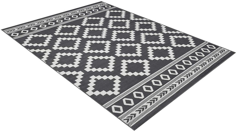 Southwestern Rug for Living Room Antiqued Trellis Gray and White Area Rug Boho D????cor Rugs for Bedroom