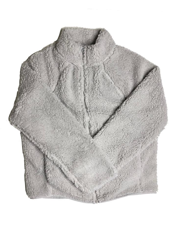 Full Zip Sherpa Fleece