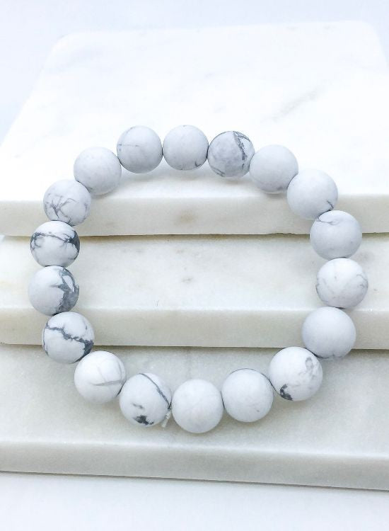 Stone Stackable Bracelet