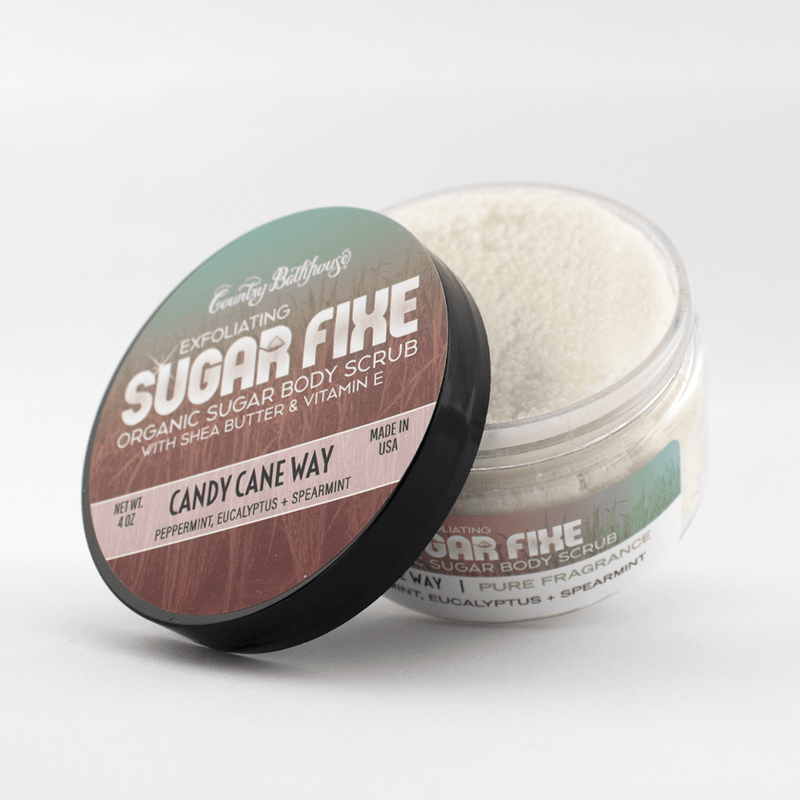 Sugar Fixe Body Scrub: Candy Cane Way