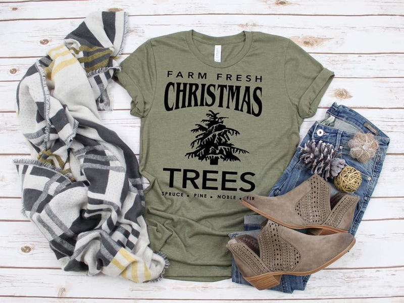 Farm Fresh Trees Holiday Tee