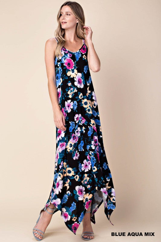 Stella Shark Bite Maxi Dress