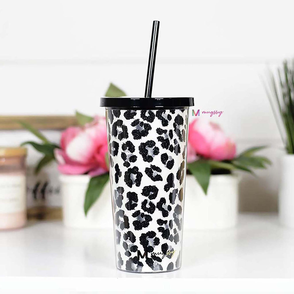 Drink Tumbler with Straw