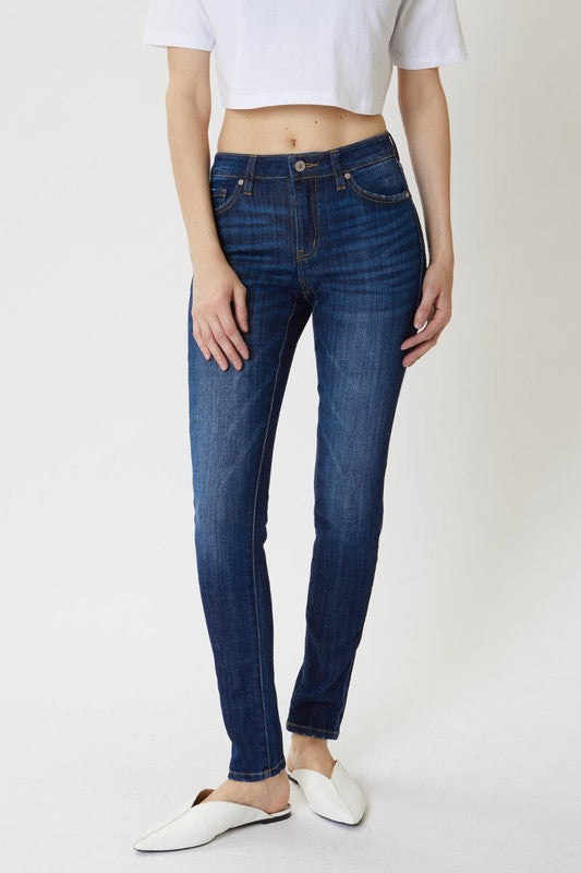 Kan Can Mid Rise Basic Skinny Jeans