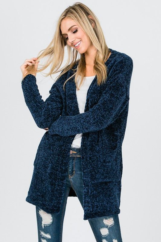 Charly Chenile Cardigan