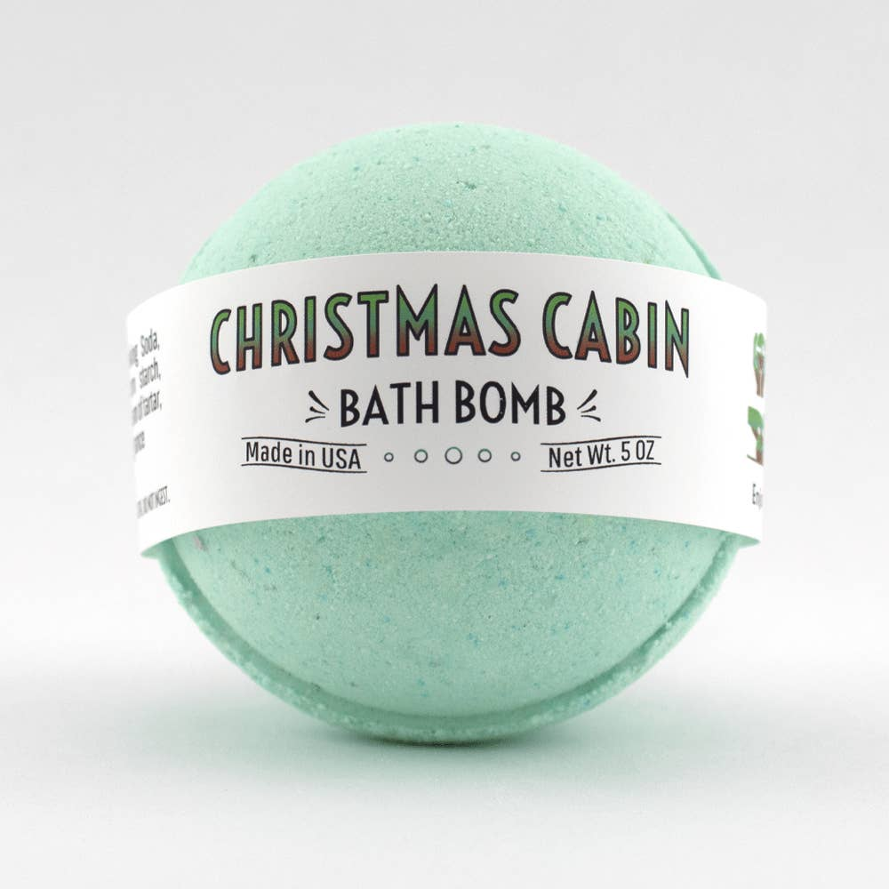 Christmas Cabin Bath Bomb