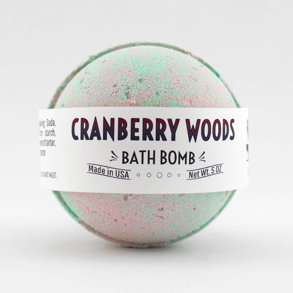 Cranberry Woods Bath Bomb