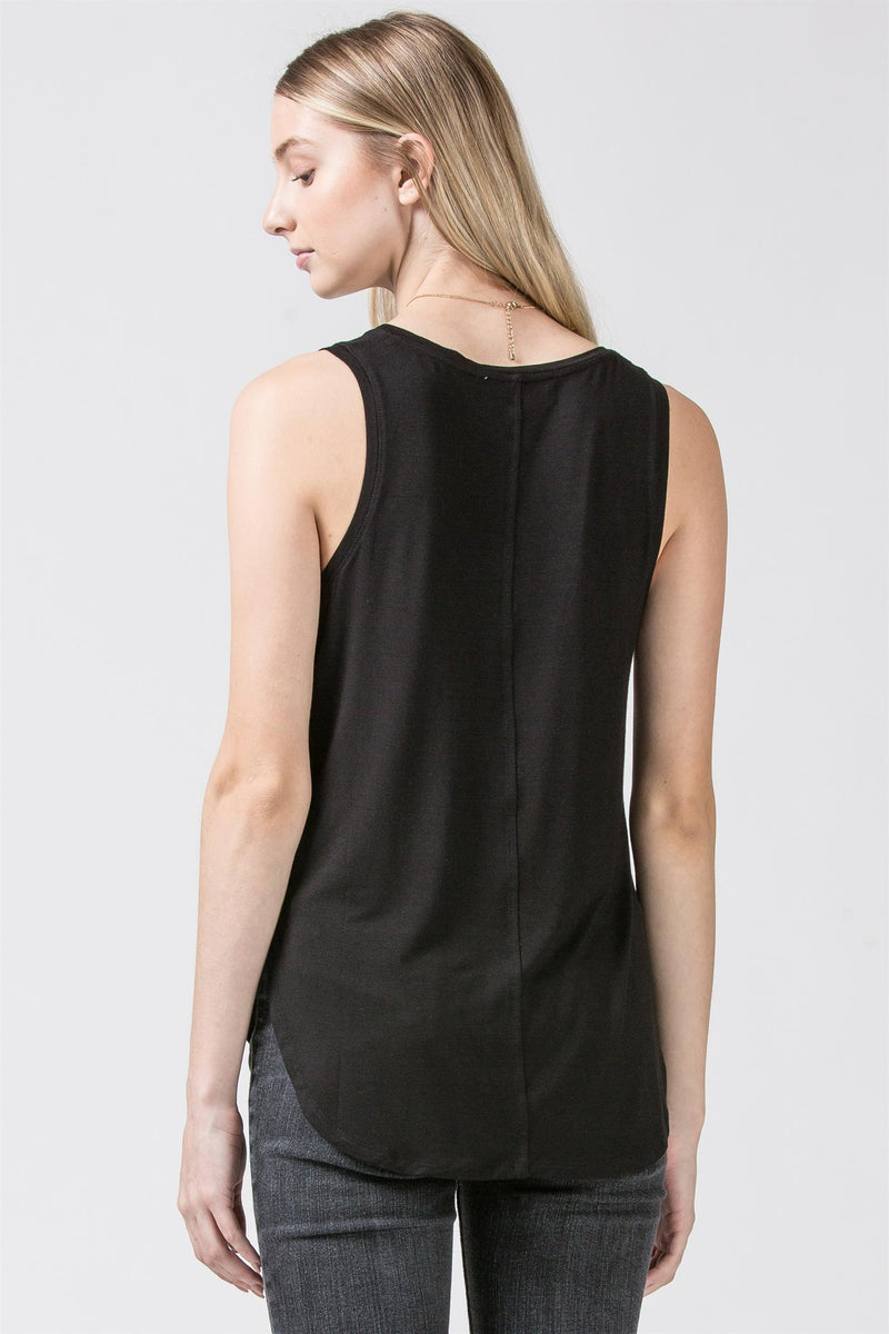 J+J Essential V-Neck Tank