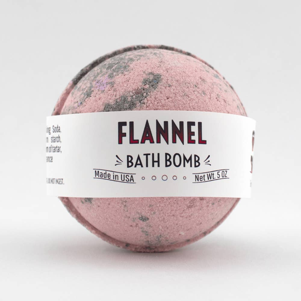 Flannel Bath Bomb