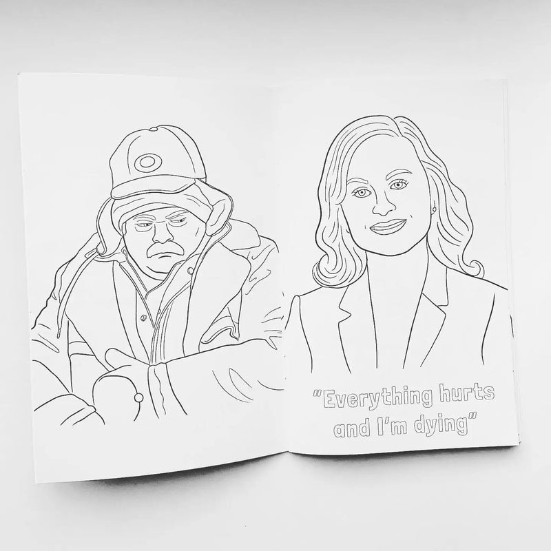 TV Show Coloring Books