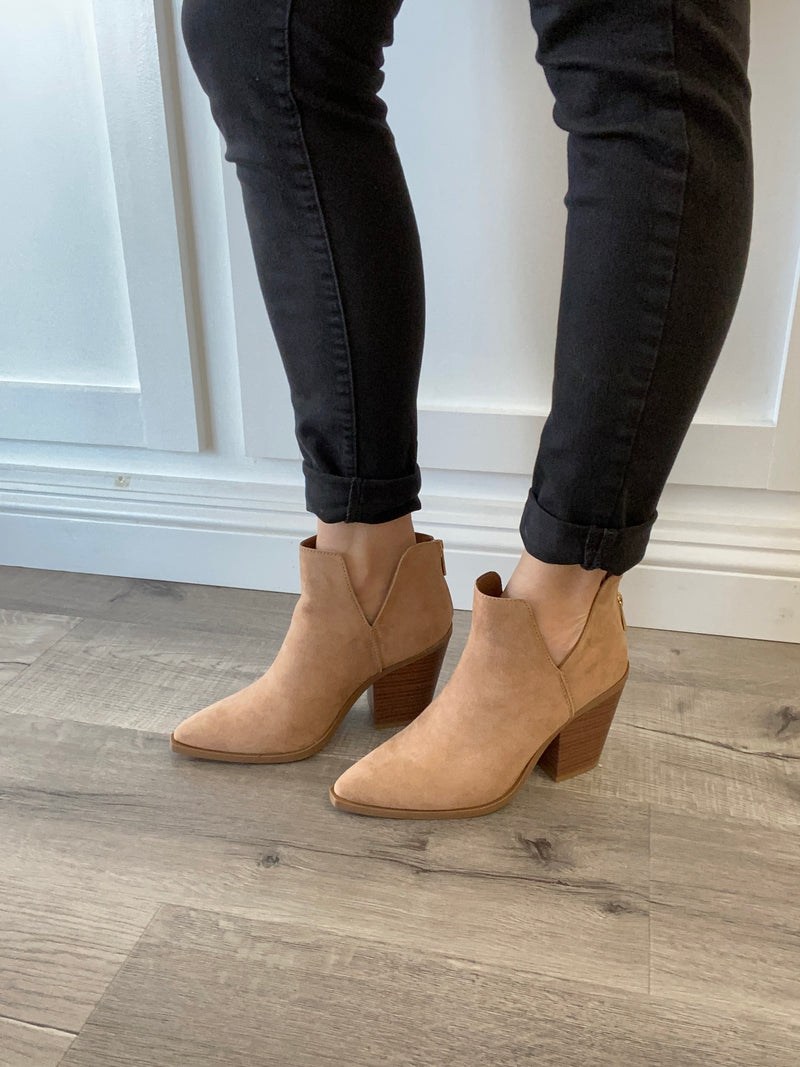 Ramsay Pointed Toe Bootie