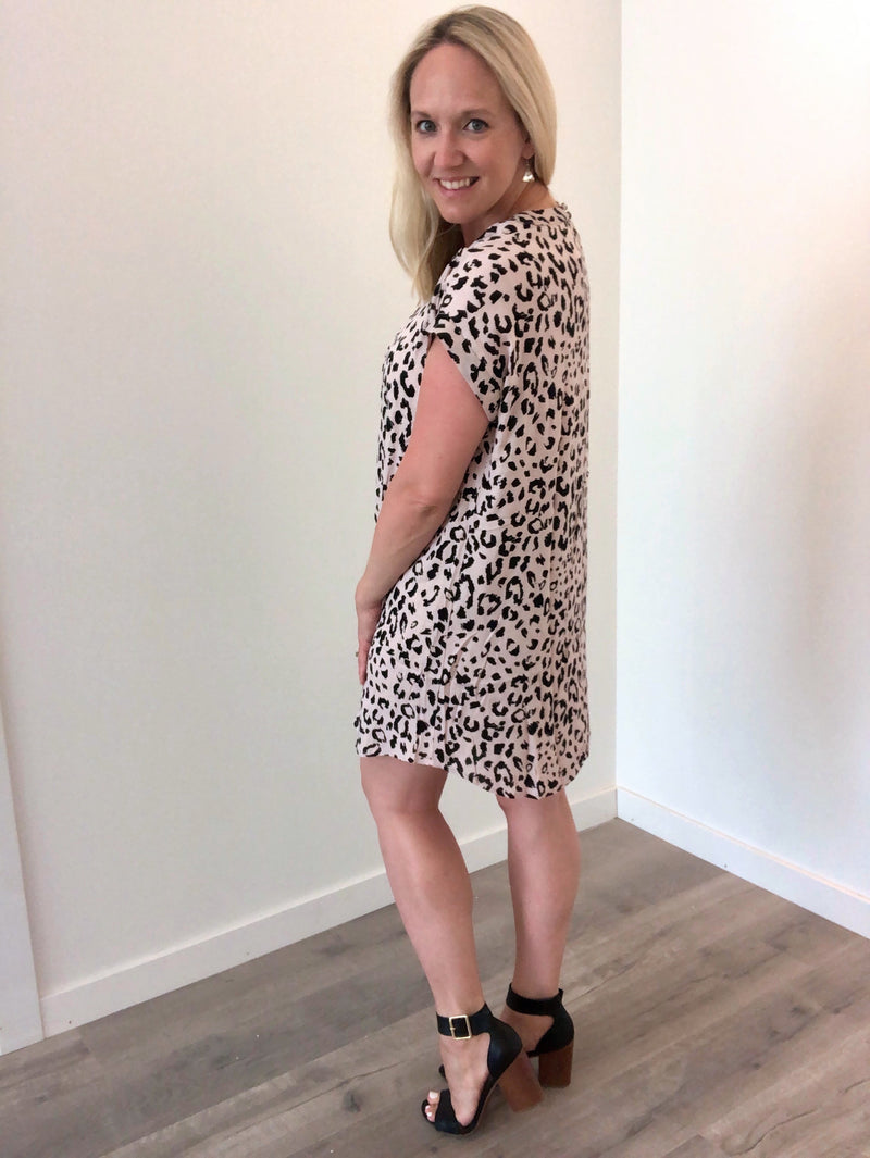 Spot On Leopard Mini Dress