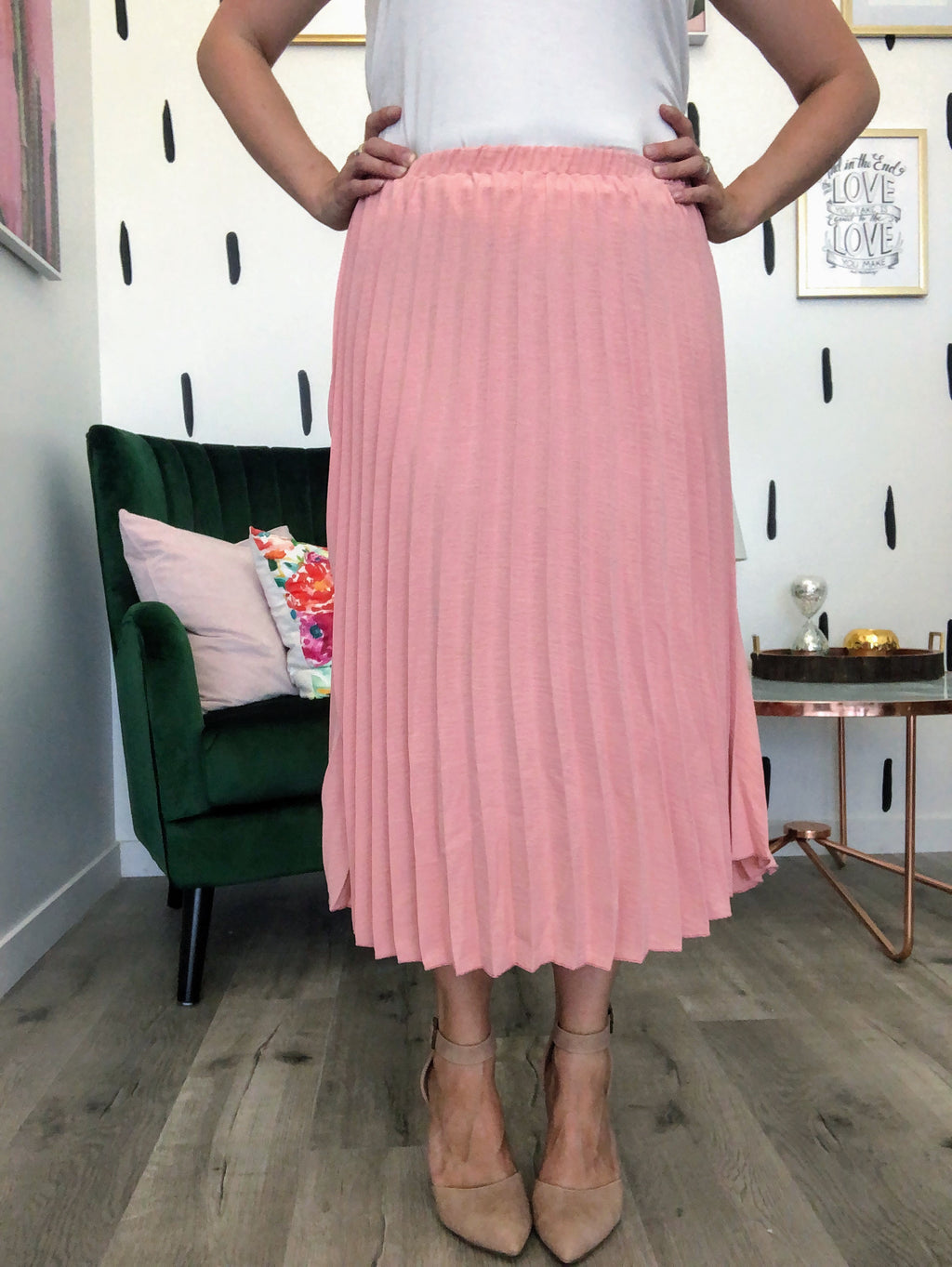 Bradshaw Pleated Skirt