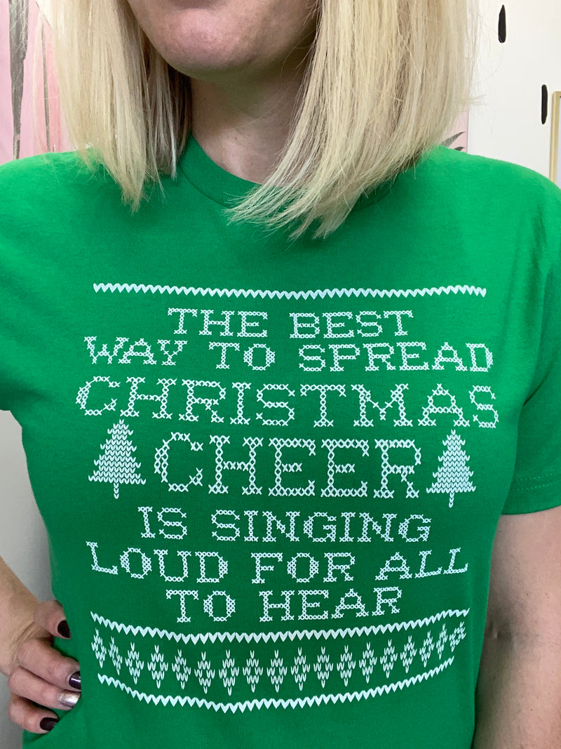 Christmas Cheer Graphic Tee
