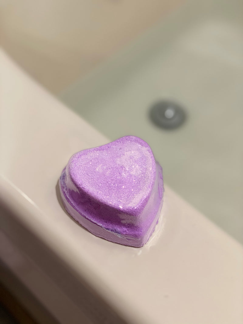 Light Up Surprise Heart Bath Bomb