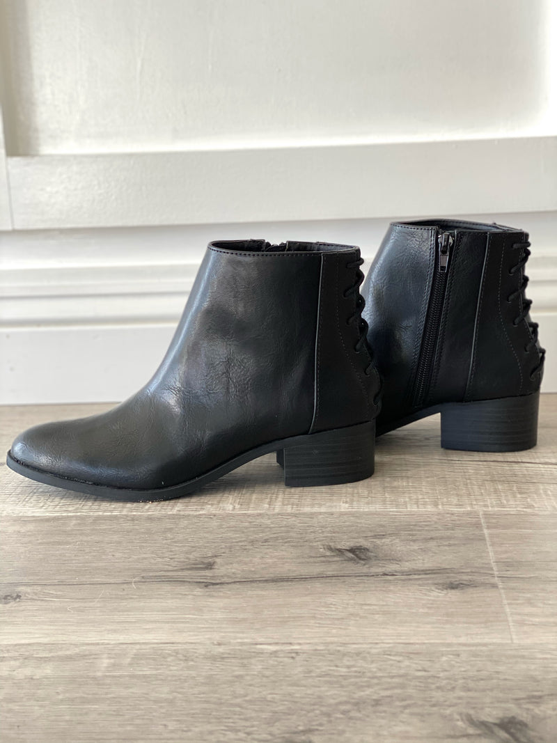 Lisa Lace Up Bootie