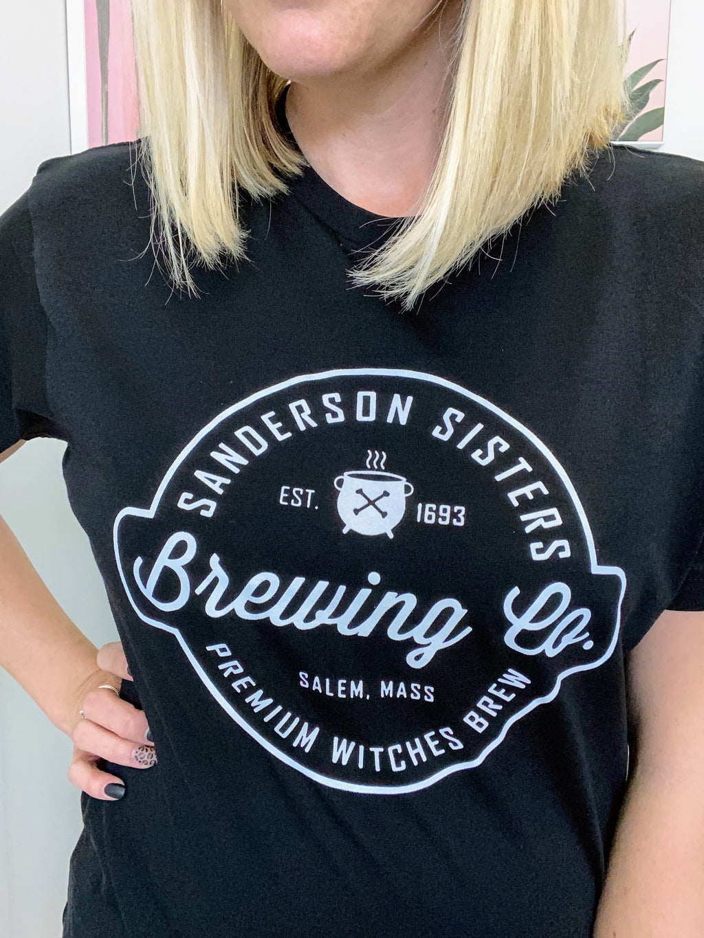 Sanderson Sisters Brewing Co. Graphic Tee