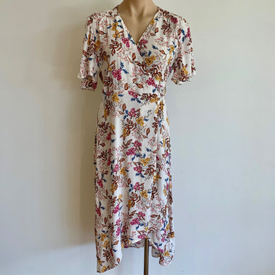 Floral Wrap Dress   **40% Discount applied at checkout**