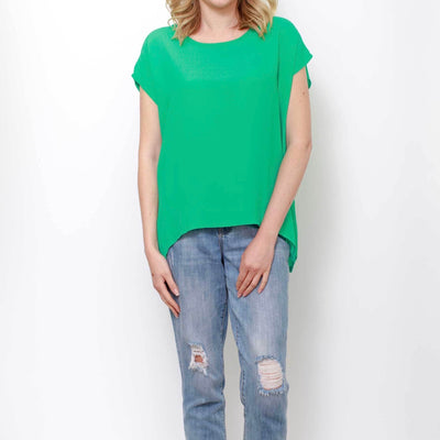 Jane Scoop Top - Mint