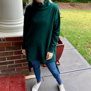 Bagira Roll Neck Knit - Emerald
