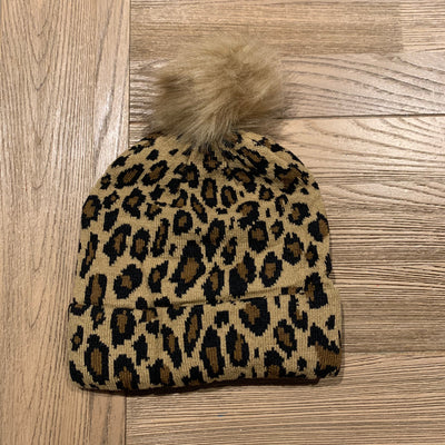 Animal Knit Beanie