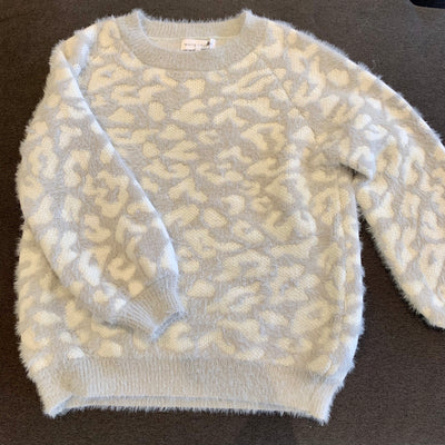 White Closet Animal Sweater