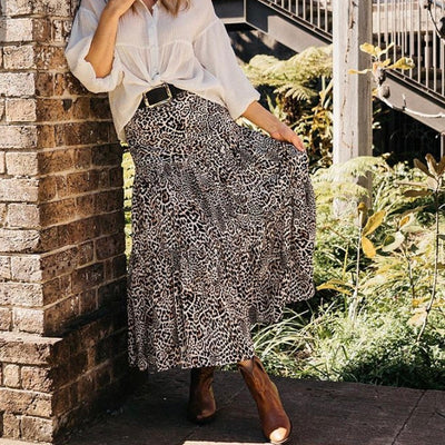 Into The Wild Maxi Skirt