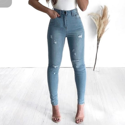 Ashlee Distressed Jeans