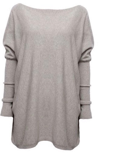 Soft, comfy and relaxed fit knit jumper. Comes in 4 amazing colours